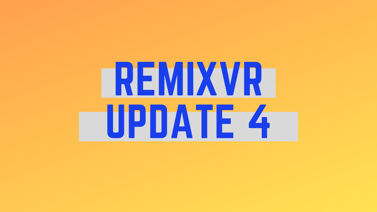 360 Image Template & Project Creation Demo | RemixVR Update 4