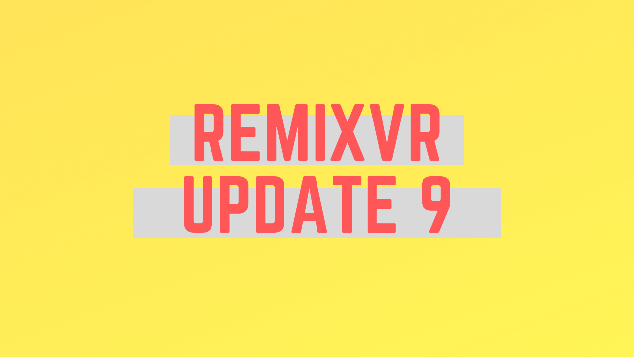 Add Objects To VR Lesson Theme | RemixVR Update 9