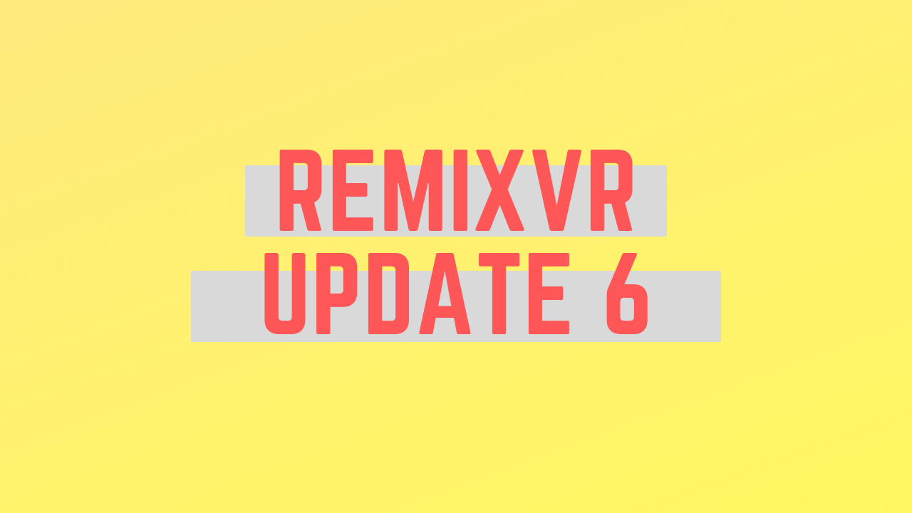 Create Project Using Lesson Theme Demo | RemixVR Update 6