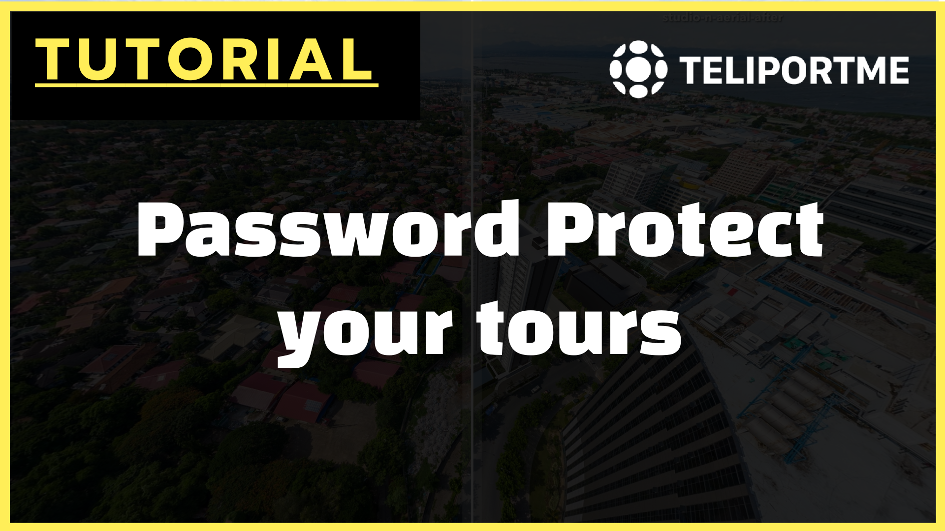 Password Protect your Virtual Tours